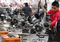 Industria en México al alza en cuatro meses