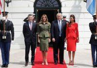 Presidente argentino Macri visita a Trump