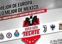 Juventus visitará Monterrey
