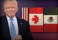 Trump da inicio a proceso de cancelación del TLCAN.