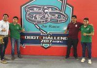 Estudiantes mexicanos ganan plata y bronce en robotchallenge 2017