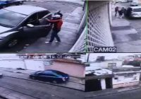 Muere menor al intentar robar una camioneta (video)