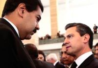 Peña Nieto es menos popular que Maduro