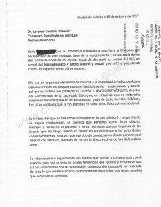 Carta INE