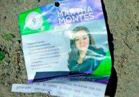 Ofrecen despensas a cambio de firmas en Monterrey