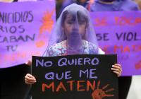 Con marcha las mujeres exigen un alto a feminicidios