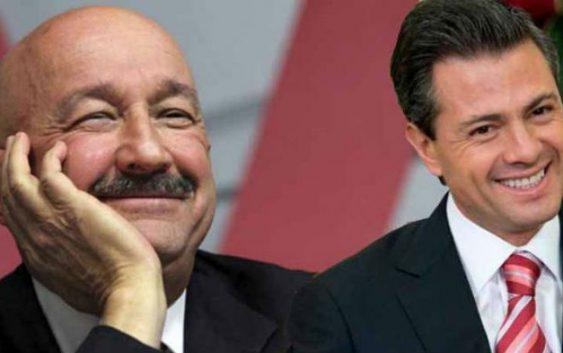EPN asiste a cumpleaños de Carlos Salinas de Gortari