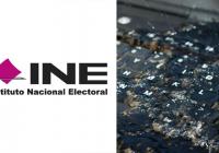 Computadoras del INE dañadas por inundación