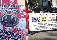 Trabajadores repudian continuidad de Moreno Valle en Puebla