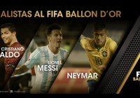 Nominados finales al Balón de Oro de la FIFA