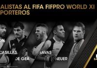 FIFA da a conocer los candidatos al FIFPro World XI