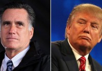 Donald Trump es un farsante: Mitt Romney