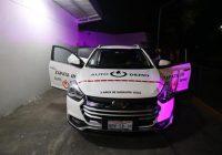 Taxi eléctrico prototipo para bajar contaminación