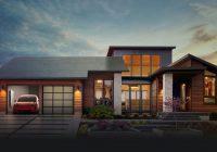 Ya disponibles las tejas solares de Tesla