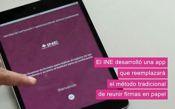 App INE