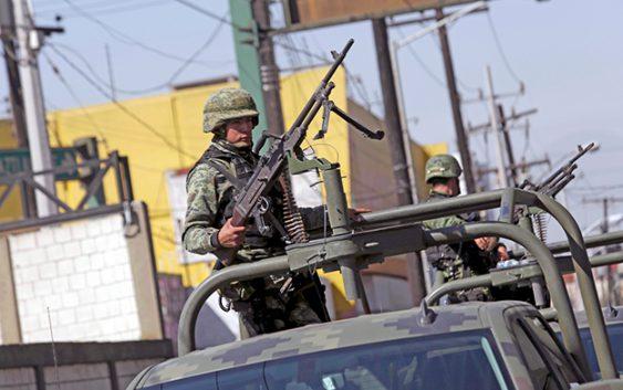 La militarización de México