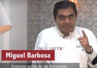 Nuestros adversarios están desesperados: Miguel Barbosa