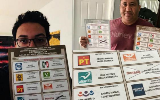 Mexicanos votan en el extranjero