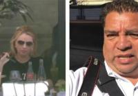 """""""Amenazaron con llevarme detenido"""": Reportero que captó a Angélica Rivera en París"""