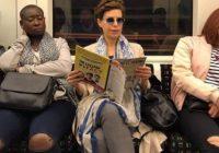 Captan a Karime Macías en Metro de Londres