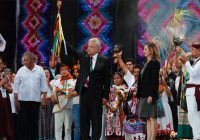 AMLO pedirá permiso a la 'Madre Tierra' para construir Tren Maya