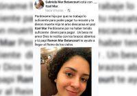 """Perdóname por no poder pagar tu rescate"", escribe empresaria a su hija asesinada"